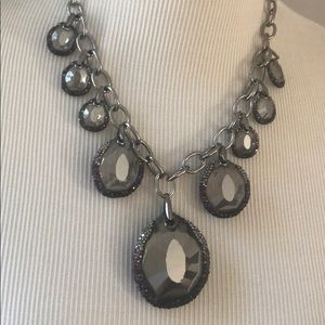 Swarovski necklace for display